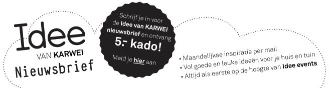 Nieuwsbrief Karwei Idee